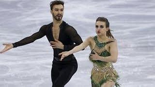 Due to a malfunction of Papadakis's wardrobe overexposed on the ice at the Winter Olympics.