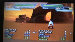 DBZ Shin Budokai 2-requisitos Para Vegeta Maligno Y Goku