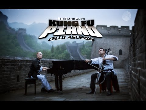 Kung Fu piano: Cello Ascends - The Piano Guys