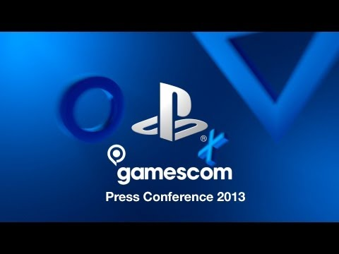 PlayStation gamescom 2013 Press Conference [Live Now]