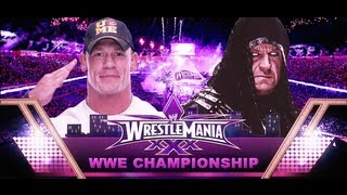 The Undertaker vs John Cena Wrestlemania 30 Promo HD
