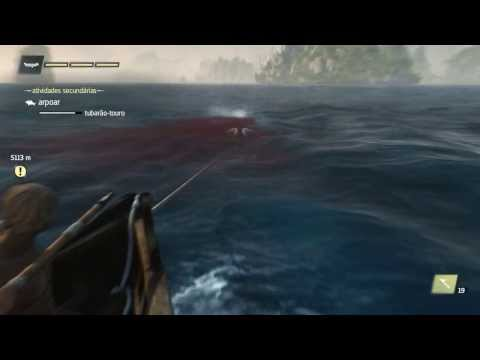 Assassin's Creed 4 Black Flag- caçando tubarao