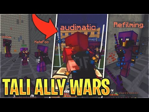 THE TALI ALLY WARS *SO FUNNY & RAGE* - Tali Duo HCF Versus Series #4 | Minecraft HCF