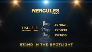Hercules Ukulele Hangers & Clamp thumbnail