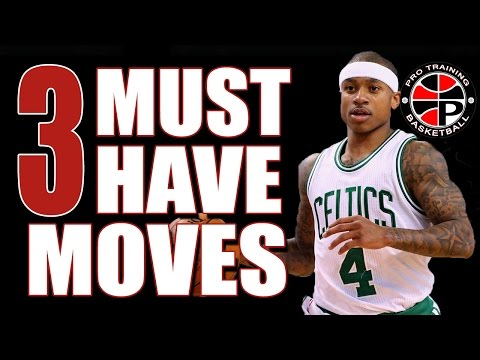 3 Crossover Moves EVERY Player Must Have | How To Crossover | Pro Training Basketball