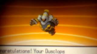 Pokemon Black 2 Dusclops Evolution