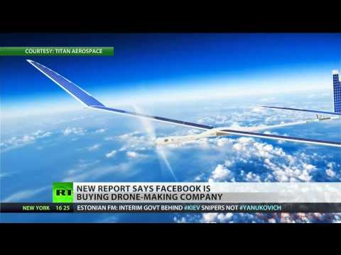 Facebook to buy company that makes solar-powered drones