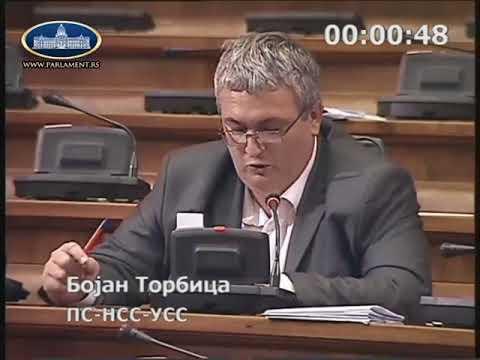 Бојан Торбица о планском систему Републике Србије 16.4.2018.