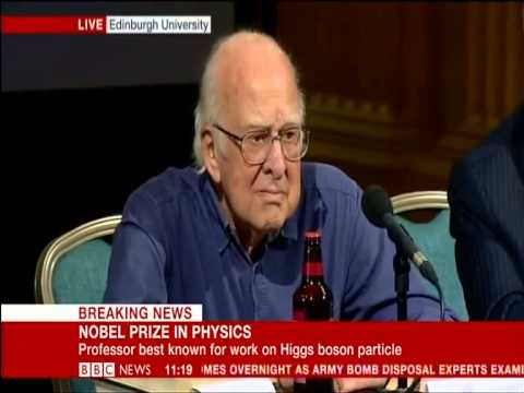 Peter Higgs - 2013 Nobel Prize in Physics (BBC, 11/10/13)