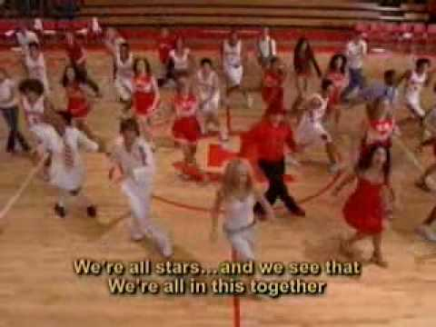 letra de were all in this together: