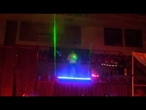Laser Harp in Israel