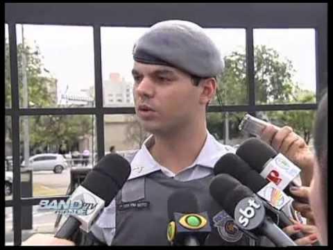 Band Cidade Campinas - Tiroteio no Shopping Galleria - 16 10 2012
