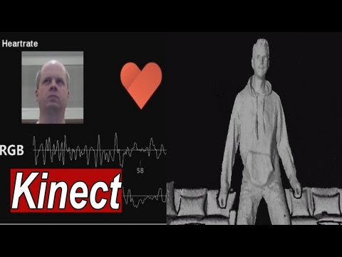 Xbox One Kinect Official Tech Demo Videos (Inside Brains, Heart & Behind the Eyes) 【HD】