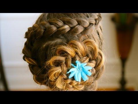 Dutch Flower Braid Tutorial