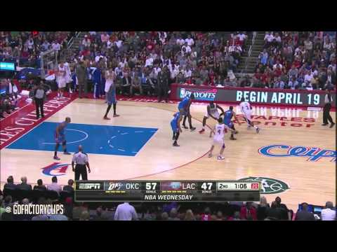 2014.04.09 - Russell Westbrook 30 vs Chris Paul 25 Full Duel Highlights - Thunder at Clippers