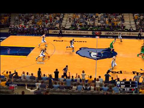 NBA 2K14: Boston Celtics vs. Memphis Grizzles HD Gameplay  ft Rajon Rondo