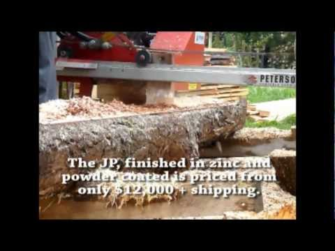 NEW Sawmill Model Demo Video - Junior Peterson (JP)