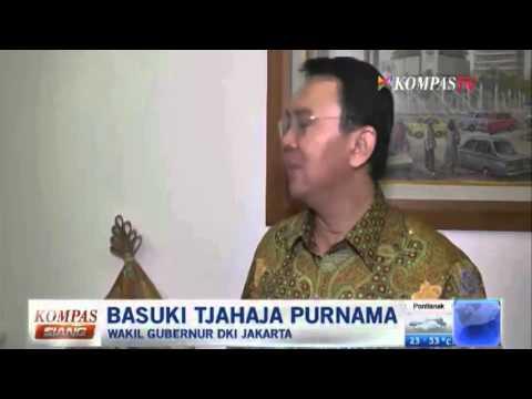 Ahok Mundur Dari Gerindra - Kompas Siang 10 September 2014