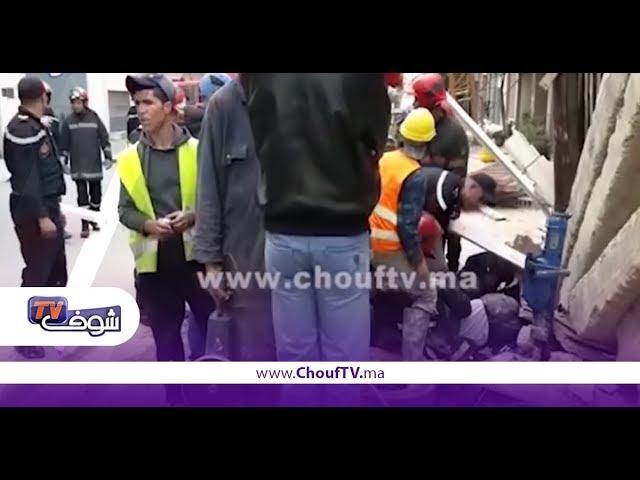 خبر اليوم.. تفاصيل سقوط رافعة بناء بالبيضاء | خبر اليوم