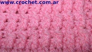 Punto Elastico Simple En Tejido Crochet Tutorial Paso A