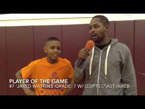 Player Of The Game 'Jared Watkins' 2014 PostGame Interview w/Jonny Parker