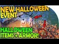 NEW HALLOWEEN EVENT HALLOWEEN ITEMS ARMOR INBOUND Last Day On Earth Survival Update