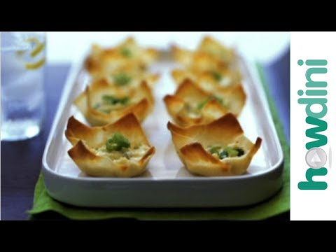 How to Make Baked Crab Rangoon with Cream Cheese - Easy!