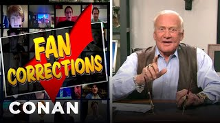 Conan: Buzz Aldrin Admits to History's Greatest Prank