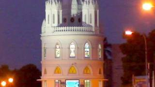 Velankanni Church At Night Nagapattinam Chennai Tamil Nadu