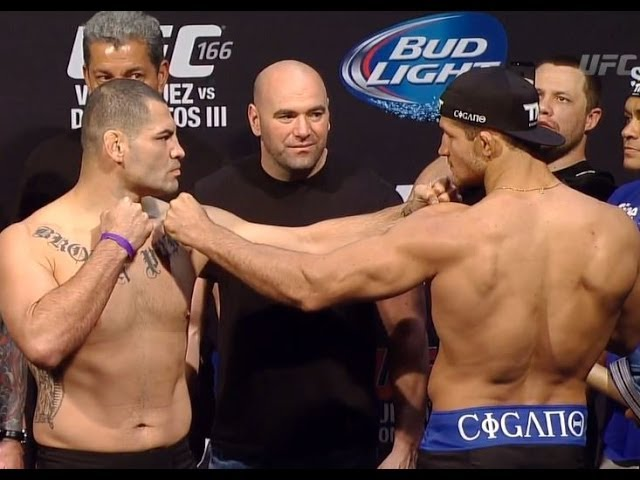 UFC 166: Official Weigh-In
