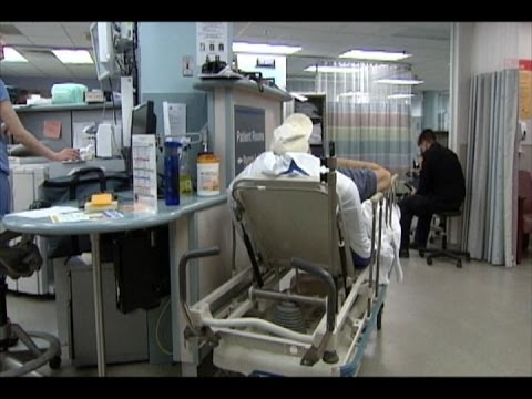Hospital Workers in Isolation for MERS