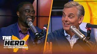 Chris Haynes on DeMarcus Cousins' return to Warriors, LeBron's injury & AD's future   NBA   THE HERD