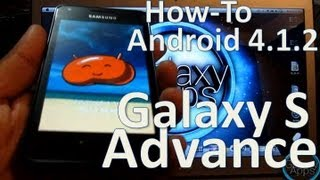 [How To] Android 4.1.2 Jelly Bean En Tu Galaxy S Advance