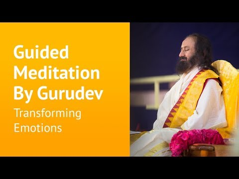 Online Guided Meditation by Sri Sri Ravi Shankar