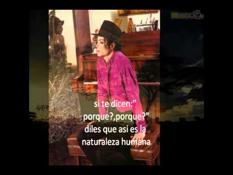 michael jackson human nature subtitulado al español