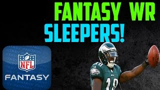 Top 3 WR SLEEPERS 2014 Fantasy Football Draft Help
