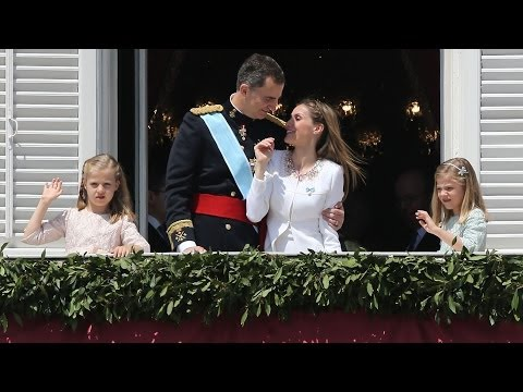 Spain's Crown Prince Becomes King Felipe VI