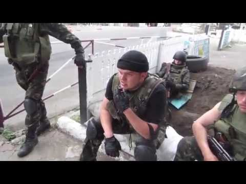 Ukraine War 2014:  Battle continues near checkpoint In Sloviansk City | 03 June 2014