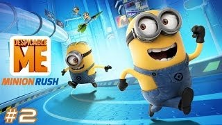 Despicable Me: Minion Rush Samsung Galaxy S3 Gameplay #2