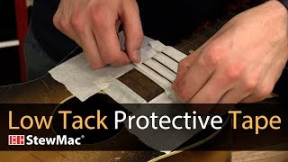 Watch the Trade Secrets Video, Safeguard delicate finishes with Low Tack Protective Tape