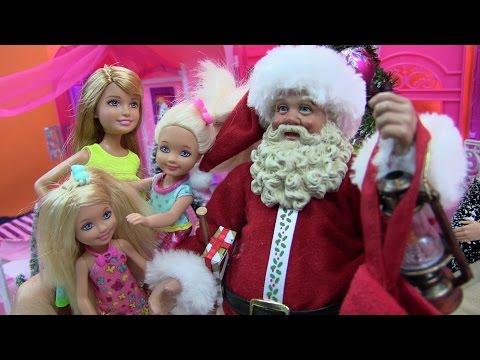 Cuôc Sống Búp Bê Barbie & Ken (tập 9) Ông Già Noel Phát Quà Cho Chị Em Barbie