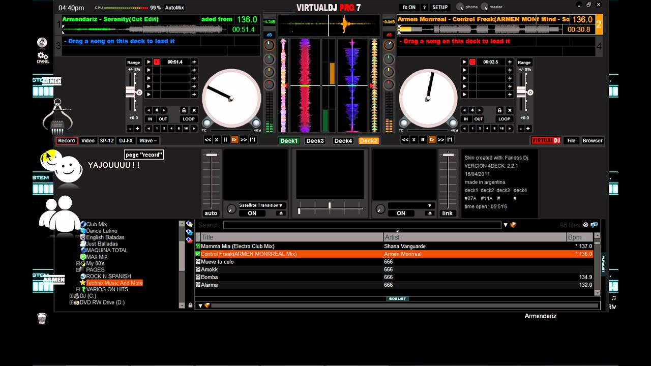 virtual dj skins serato download
