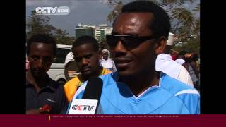 CCTV talks to Ethiopians arriving at Bole Airport from Saudi Arabia