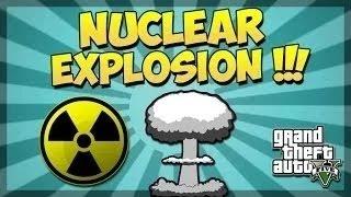 """GTA 5 Nuclear Explosion Mod GTA 5 Nuke Mod """"GTA 5 Mods"""