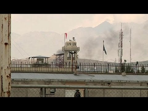 Afghanistan: Taliban attack electoral commision headquarters in Kabul