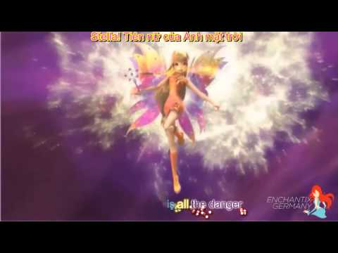 (Karaoke Effect) Biến hình Mythix 3D, Winx Club.