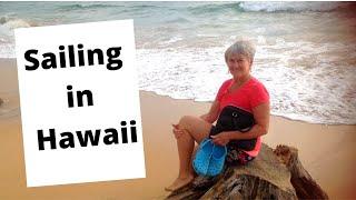 Catamaran 32-Foot Sailing To Hawaii