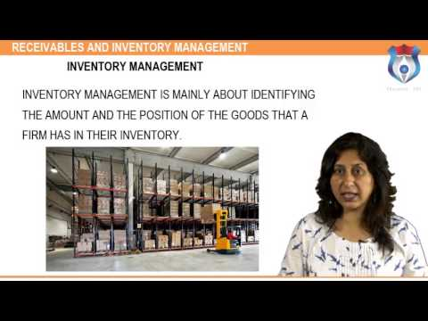 RECEIVABLES AND INVENTORY MANAGEMENT n