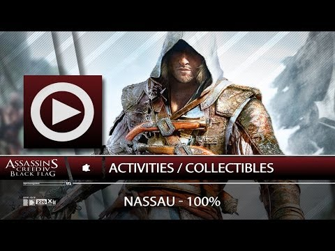 (SOG) Nassau / 100% / Activities & Collectibles - Navigation Guide (ASSASSIN'S CREED 4)