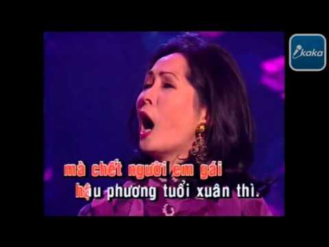Karaoke Beat Những đồi hoa sim   Phương Dung
